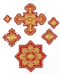 Tikhvin cross vestment set