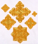 Sarov cross vestment set