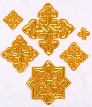 Sarov cross vestment set