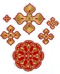 Kozelsk cross vestment set