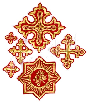 Kalouga cross vestment set