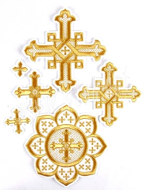 Rostov cross vestment set