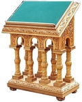 Church lecterns: Double carved lectern - 2