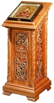 Church lecterns: Lavra carved lectern