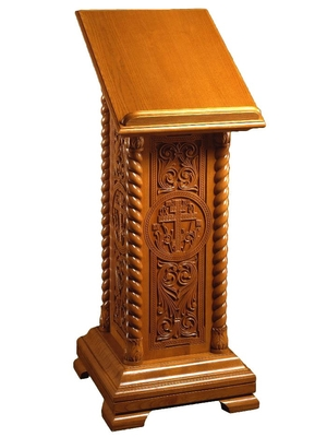 Church lecterns: Lavra-2 carved lectern