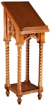 Church lecterns: Greek carved lectern -1