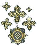 Cherkassy cross vestment set