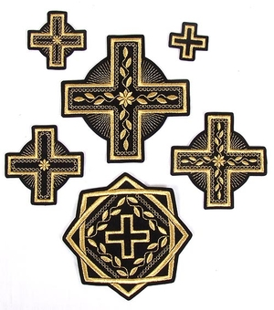 Kovel cross vestment set