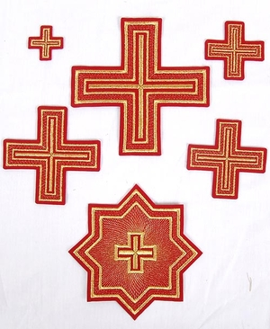 Nicholaev cross vestment set