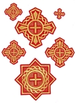 Donets cross vestment set