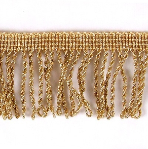 Vestment fringes: Round copper fringe