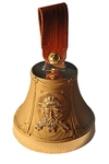 Souvenir bells: Bell with icon of Christ