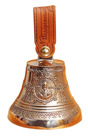Souvenir bells: Bell with icon of St. Nicholas