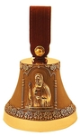Souvenir bells: Bell with icon of St. Seraphim of Sarov