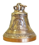 Souvenir bells: Bell with icon of The Most Holy Theotokos