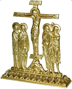 Table Golgotha cross no.3