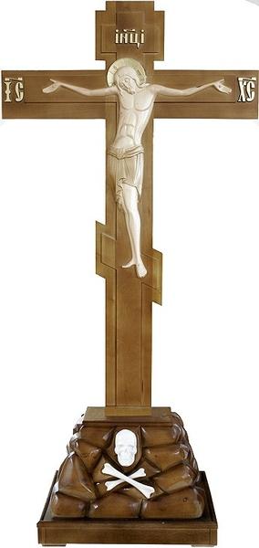Golgotha crucifixion no.1