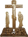 Golgotha crucifixion no.1a