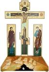 Golgotha crucifixion no.1-2