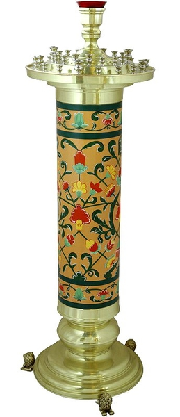 Church floor candle stand no.6a (36 candles)
