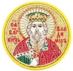 Embroidered icon - St. Prince Vladimir Equal-to-the-Apostle