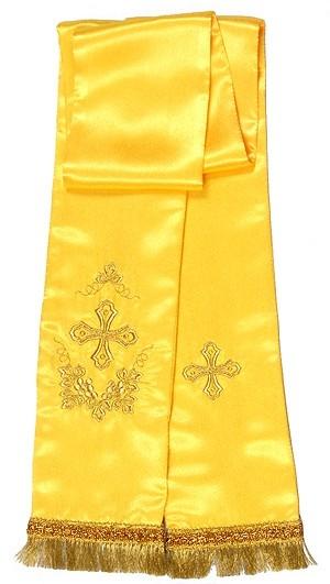 Vine embroidered bookmark