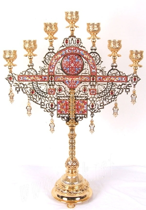 Seven-branch Altar stand - 14