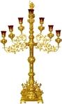Seven-branch altar stand (candelabrum) no.3