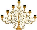 Seven-branch altar stand (candelabrum) - 4