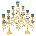 Seven-branch altar stand (candelabrum) no.2a