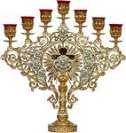 Seven-branch altar stand (candelabrum) no.3a