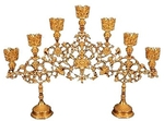 Seven-branch Altar stand no.1 (gold)