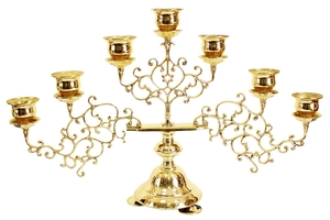 Seven-branch table candelabrum (small)