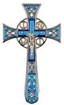 Blessing cross no.4-1 (light blue)