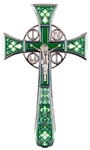 Blessing cross no.4-1 (green)