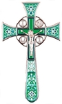 Blessing cross no.4-1 (light-green)
