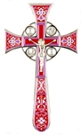 Blessing cross no.4-1 (crimson)