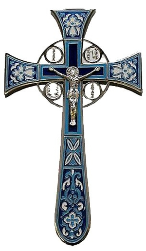 Blessing cross no.4-1 (dark-blue)