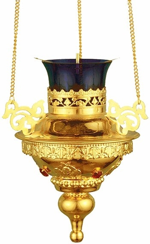 Vigil lamps: Oil lamp no.9
