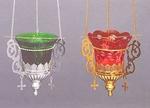 Vigil lamps: Oil lamp no.20a