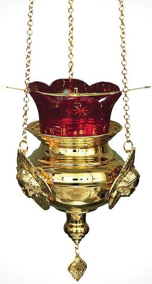 Vigil lamps: Oil lamp no.21