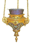 Vigil lamps: Oil lamp no.3