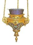 Vigil lamps: Oil lamp no.3
