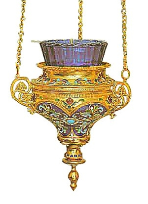 Vigil lamps: Oil lamp - 44