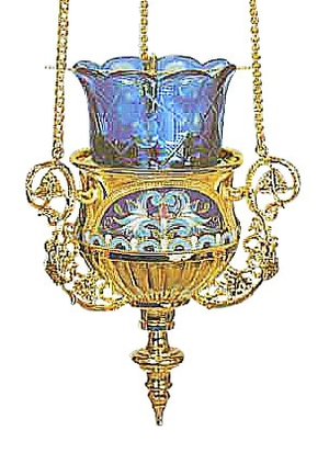 Vigil lamps: Oil lamp - 46