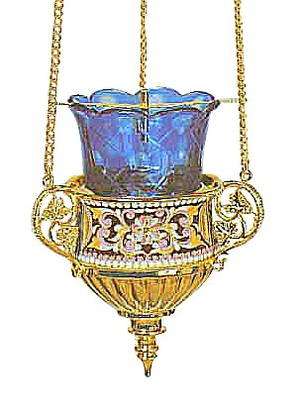 Vigil lamps: Oil lamp - 47
