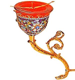 Vigil lamps: Oil lamp - 52