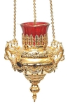 Vigil lamps: Oil lamp no.35 (gold)