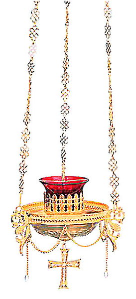 Vigil lamps: Oil lamp no.44