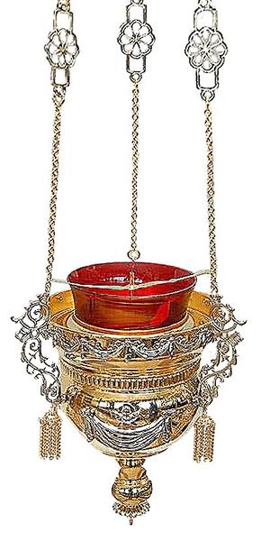 Vigil lamps: Oil lamp no.48